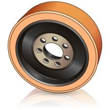 343 - 136 мм Ведущее колесо 7 отверстий Still 8365234 для ричтраков и штабелеров - Изображение