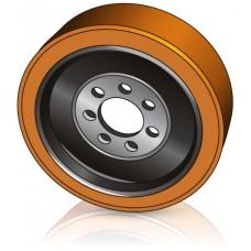 343 - 140-80 мм Ведущее колесо 7 отверстий Jungheinrich 50030525 для ричтраков - Изображение