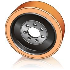 343 - 140 мм Ведущее колесо 7 отверстий Crown 807557 для ричтраков и штабелеров - Изображение