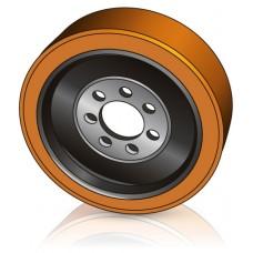 343 - 140 мм ведущее колесо 7 отверстий Steinbock 004356231 для ричтраков и штабелеров - Изображение