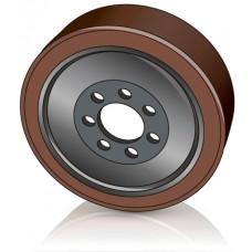 343 - 110-90 мм Ведущее колесо 7 отверстий Jungheinrich 51130049 для штабелеров и сборщиков заказов - Изображение