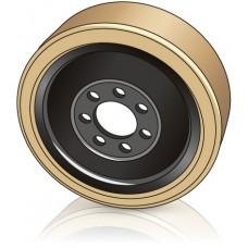 350 - 127 мм Ведущее колесо 7 отверстий BT 220403 для ричтраков и штабелеров - Изображение