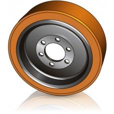 350 - 130/140 мм Ведущее колесо 6 отверстий Atlet110954 для ричтраков - Изображение