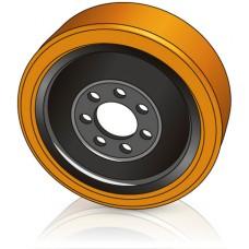 350 - 140 мм Ведущее колесо 7 отверстий BT 201332 для ричтраков и электротележек - Изображение