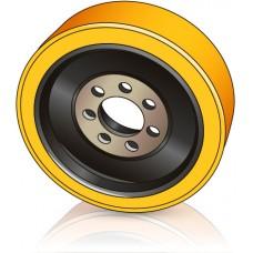 360 - 130 мм Ведущее колесо 7 отверстий STILL 8428189 для ричтраков - Изображение