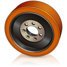 360 - 140 мм  Ведущее колесо 7 отверстий TVH 11811865 для ричтраков - Изображение
