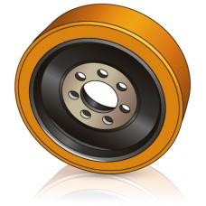 360 - 140 мм Ведущее колесо 7 отверстий ROCLA 470019 для ричтраков - Изображение