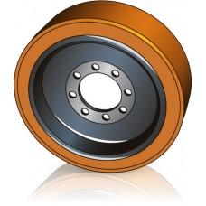400 - 160 мм Ведущее колесо 8 отверстий Steinbock 5045805 для ричтраков, штабелеров - Изображение