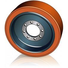 400 - 160 мм Ведущее колесо 8 отверстий Jungheinrich 50112525 для ричтраков - Изображение