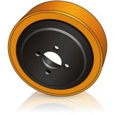 200 - 75 мм Ведущее колесо 4 отверстия Jungheinrich 50106535 для штабелеров и гидравлических тележек - Изображение