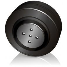 200 - 75 мм  Ведущее колесо Mic 050079000 для штабелеров Jungheinrich  - Изображение