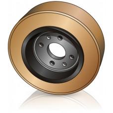 200 - 85 мм Ведущее колесо Jungheinrich 63154080 для штабелеров - Изображение