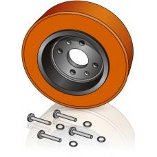 200 - 85 мм Ведущее колесо Jungheinrich 63185480 для штабелеров и тележек - Изображение