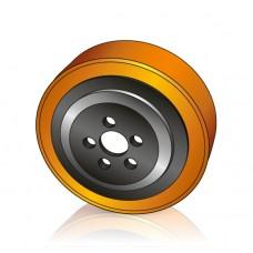 230 - 70 мм Ведущее колесо Crown 805961-001 для гидравлических электротележек и штабелеров - Изображение