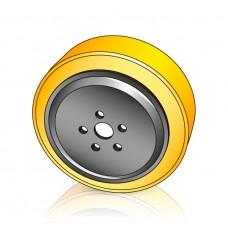 230 - 75 мм Ведущее колесо Yale 580013479 / Hyster 2770500 для штабелеров, транспортировщиков паллет - Изображение