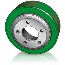 215 - 70 мм Ведущее колесо 5 отверстий BT 239951 для штабелеров и электротележек - Изображение