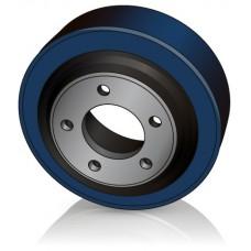 215 - 70 мм Ведущее колесо 5 отверстий BT Toyota 127352 для штабелеров и электротележек - Изображение
