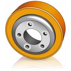 215 - 82 мм Ведущее колесо 5 отверстий BT 129920 для штабелеров и электротележек - Изображение