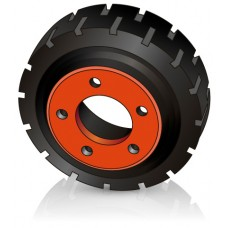 215 - 82 мм Ведущее колесо 5 отверстий BT 209493 для штабелеров и электротележек - Изображение