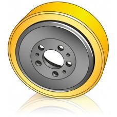 230 - 65/70 мм Ведущее колесо Jungheinrich 50020215 для штабелеров, электрических тележек - Изображение