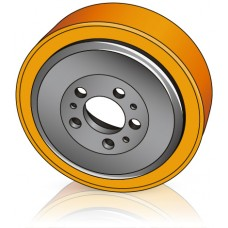 230 - 65/70 мм Ведущее колесо Jungheinrich 50030951 для штабелеров, электрических тележек - Изображение