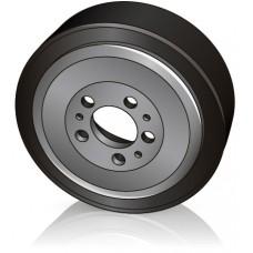 230 - 65/70 мм Ведущее колесо Jungheinrich 63210590 для штабелеров, электрических тележек - Изображение