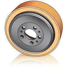 230 - 65/70 мм Ведущее колесо Jungheinrich 50460101 для штабелеров, электрических тележек - Изображение