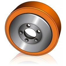 230 - 75 мм Ведущее колесо 5 отверстий BT 7535735 для электротележек, штабелеров - Изображение