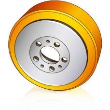 230 - 82 мм Ведущее колесо Jungheinrich 16248990 для штабелеров, тележек, тягачей - Изображение