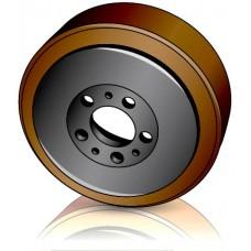 230-82-45 мм Ведущее колесо Jungheinrich 50026121 для штабелеров, тележек, подборщиков заказов, тягачей - Изображение