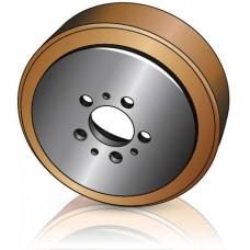 230 - 82 мм Ведущее колесо Jungheinrich 50141153 тележек, подборщиков заказов, тягачей - Изображение