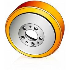 230 - 78 / 82 мм Ведущее колесо Jungheinrich 50460100 для штабелеров, тележек, электротягачей - Изображение
