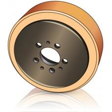 230 - 82 мм ведущее колесо Jungheinrich 63215600 для штабелеров, электротележек  - Изображение