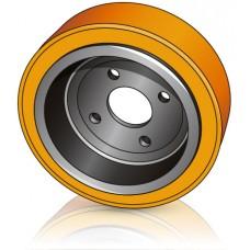 230 - 90 мм Ведущее колесо 4 отверстия  Linde 0039902304 для электротележек, штабелеров - Изображение