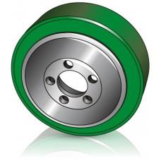 230 - 70 мм Ведущее колесо 5 отверстий для электрических тележек Lafis - Изображение