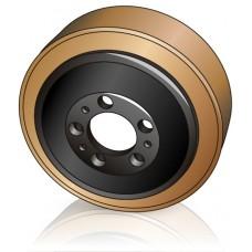 230 - 70 мм Ведущее колесо Steinbock 5078090 для вилочных погрузчиков, штабелеров, тележек - Изображение