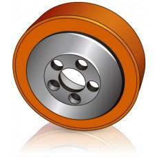 230 - 75 мм Ведущее колесо 5 отверстий Still 4498926 штабелеров, электрических тележек - Изображение