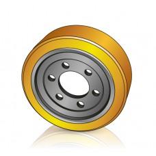 230 - 75 мм Ведущее колесо 6 отверстий Still 4494268 / Linde 0009903807 для штабелеров - Изображение