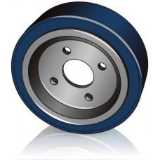 230 - 80 мм Ведущее колесо 4 отверстия Jungheinrich 77800067 для вилочных погрузчиков, штабелеров - Изображение