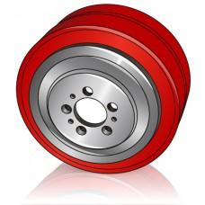 230 - 70 мм Ведущее колесо Jungheinrich 50023635 для электрических тягачей, тележек, штабелеров - Изображение