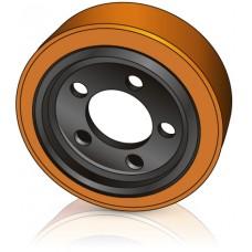 250 - 75 мм Ведущее колесо 5 отверстий BT Toyota 138457 для штабелеров, комплектовщиков и Электротележек - Изображение