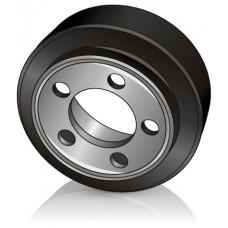 250 - 70 / 80 мм Ведущее колесо 5 отверстий Jungheinrich 51116504 для комплектовщиков и электротележек - Изображение