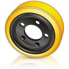 250 - 75 мм Ведущее колесо 5 отверстий BT 7577494 для электрических тележек - Изображение