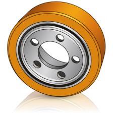 250 - 85 мм Ведущее колесо 5 отверстий Stocklin 360503 для штабелеров, комплектовщиков - Изображение