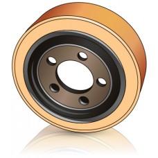 250 - 82 мм ведущее колесо 5 отверстий STILL 8317064 для штабелеров и комплектовщиков - Изображение
