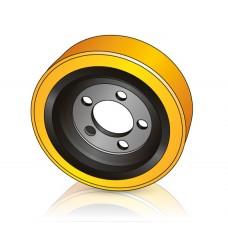 255 - 83/80 мм Ведущее колесо 5 отверстий Still 4305061 для вилочных погрузчиков, штабелеров, тягачей, тележек - Изображение
