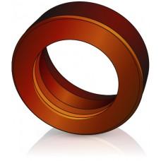 150 - 50 мм Бандажное Ведущее колесо для вилочных погрузчиков, штабелеров Jungheinrich - Изображение