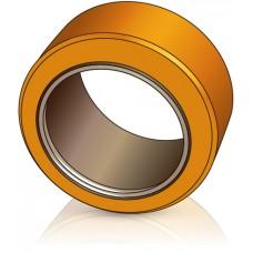 150 - 75 мм Бандажное Ведущее колесо для вилочных погрузчиков, штабелеров Jungheinrich - Изображение