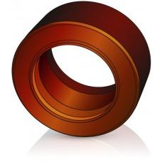 180 - 100 мм Бандажное Ведущее колесо для вилочных погрузчиков, штабелеров Jungheinrich - Изображение