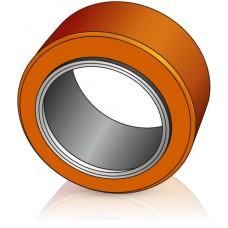 180 - 100 мм Бандажное Ведущее колесо для вилочных погрузчиков, штабелеров Linde / Om Pimespo - Изображение